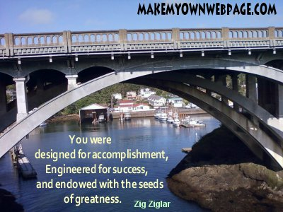 You were designed for success